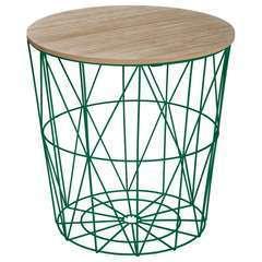 Atmosphera, créateur d'intérieur-Table à café métal Kumi vert sapin