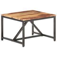 Table d'appoint Bois solide - 60x60x40cm