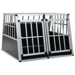 Cage pour chien à double porte - 94 x 88 x 69 cm