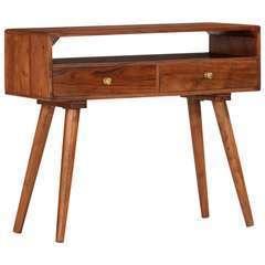 Table console Bois d'acacia massif - 90x35x76cm