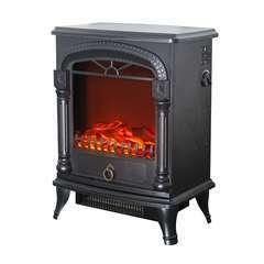 Cheminée Électrique Poêle 1950 W  Arizona 37x23x51cm Flamme Thermostat