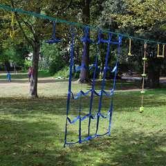 Filet à grimper pour Parcours Ninja, parcours d'obstacles