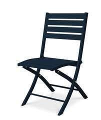 Chaise pliante MARIUS en aluminium - MARINE