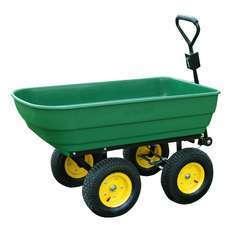 Chariot de jardin a main garden cart truck cuve basculante max. 250 Kg