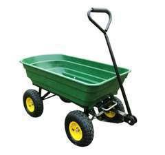 Chariot de jardin a main garden cart truck cuve basculante max. 200 Kg