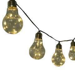 Guirlandes solaires extérieures 7,6m- 2 pièces - LED blanc chaud