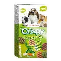 Crispy Toasties Légumes pour petits mammifères 150g