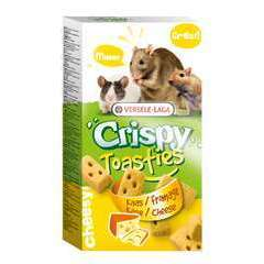Crispy Toasties Fromage pour petits mammifères 150g
