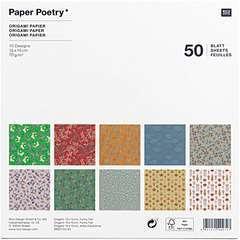 Papier Origami Automne 70g/m² - 15x15 cm (50 feuilles)
