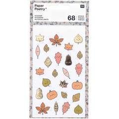 Autocollants de diverses feuilles (x68)