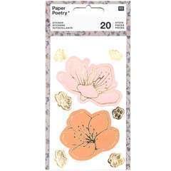 Autocollants de fleurs (20 pièces)