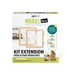 Kit extension en bambou pour parc modulable - Modul'Home