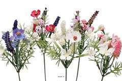 Mini bouquets X5 de fleurs artificielles