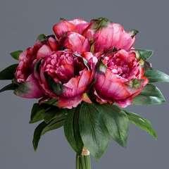 Bouquet de Pivoines artificielles 8 tetes