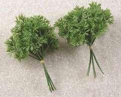 Bouquet de persil artificiel X 12 en Plast