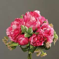Bouquet de Pivoines et Carottes sauvages