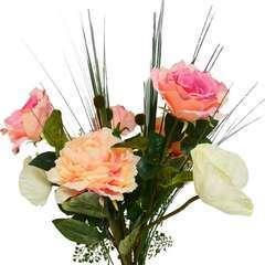 Bouquet artificiel création fleuriste H 70