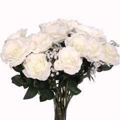 Bouquet artificiel création fleuriste calme