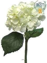 Hortensia artificiel en branche H 48 cm