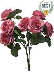 Bouquet de rose Paris artificielle 10 têtes