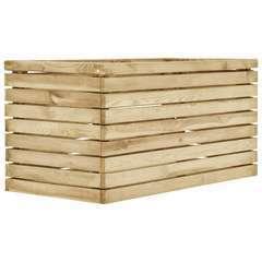 Jardinière surélevé 100x50x50 cm Bois de pin imprégné