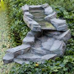 Ensemble de ruisseau de jardin 105 cm