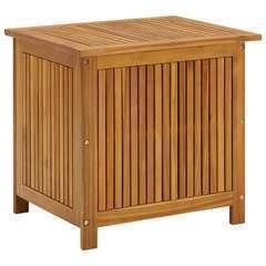 Boîte de rangement de jardin 60x50x106 cm Bois d'acacia solide