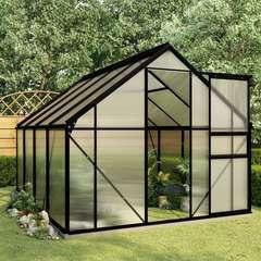 Serre avec cadre de base Anthracite Aluminium 4,75 m²