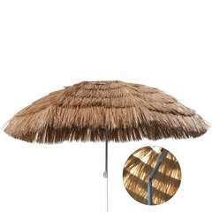 Parasol de plage Hawaï 160 cm Beige