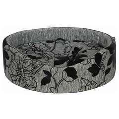Lit Mousse Noir pour Chien et Chat - 50X46cm