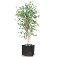 Bambou artificiel en pot special UV pour ext