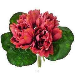 Bouquet de 6 fleurs de Lotus artificie
