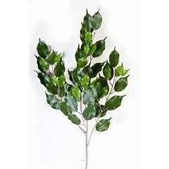 Branche de feuillage ficus artificiel H 75