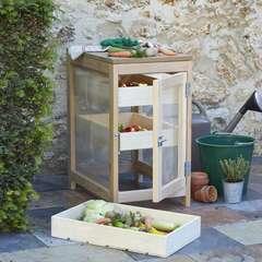 Armoire garde-manger en hêtre 40x60xH.72 cm