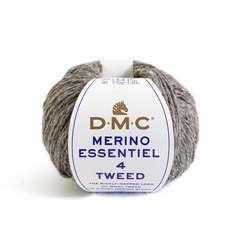 DMC Merinos 4 Tweed - 50gr - Pelote de fil à tricoter - N°913
