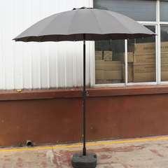 Parasol rond inclinable 'saïgon' gris - 2,50m