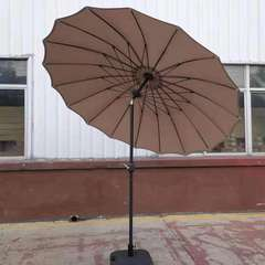 Parasol rond inclinable 'saïgon' taupe - 2,50m