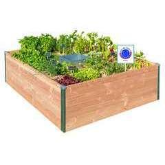 Potager autonome keyhole garden petit modele - 120x115cm