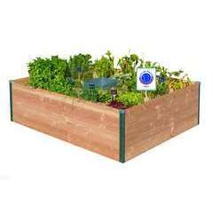 Potager autonome keyhole garden medium - 170x120cm