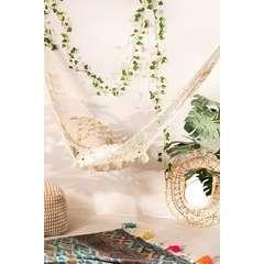 Hamac filet en coton blanc - 130x286