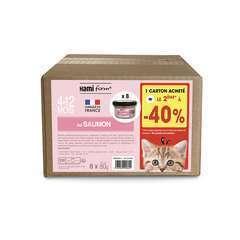 Les cuisinés pour chaton recette n°31 Saumon 8x80g