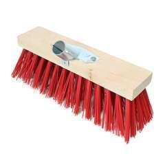 Balai cantonnier en bois Rouge - 32 cm
