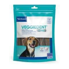 Lamelles à mâcher dentaire VEGGIEDENT pour moyens chiens - 15 pièces