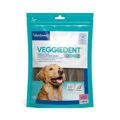 Lamelles à mâcher dentaire VEGGIEDENT pour grands chiens - 15 pièces