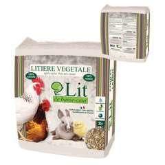 Litière pour poule et lapin - 55 litres