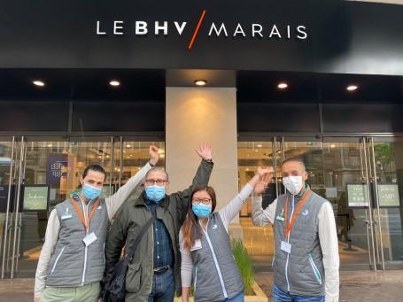 L'équipe de votre jardinerie Truffaut Paris BHV Marais