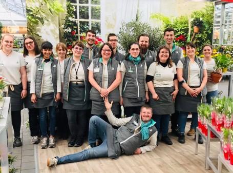 L'équipe de votre jardinerie Truffaut Tours