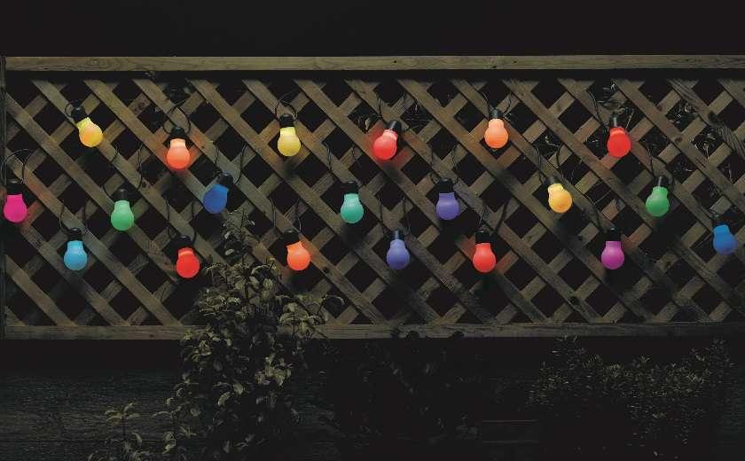 guirlande lumineuse décoration extérieure