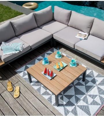 Entretien mobilier de jardin en textile