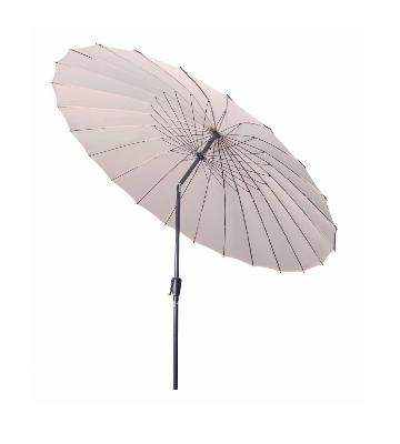 Parasol droit ou centré